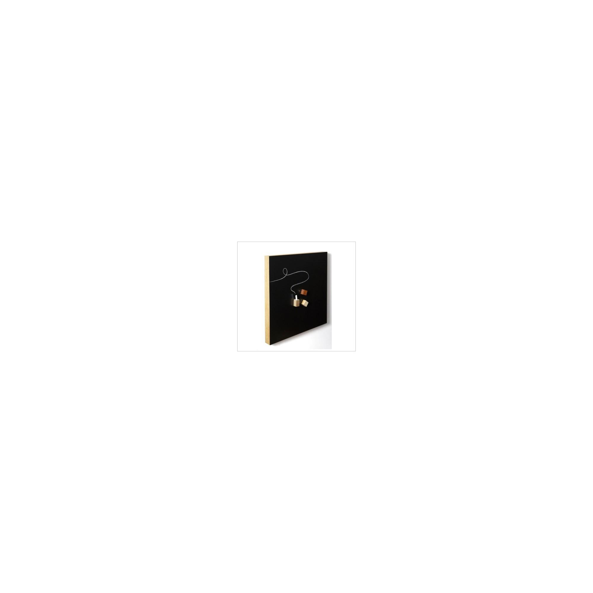 tableau noir magn tique carr 500 x 500 x 40 mm tableaux. Black Bedroom Furniture Sets. Home Design Ideas