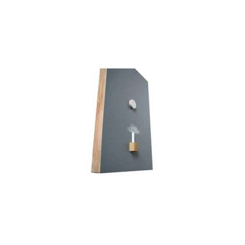 Tableau noir magnétique rectangulaire, 330 x 500 x 40 mm