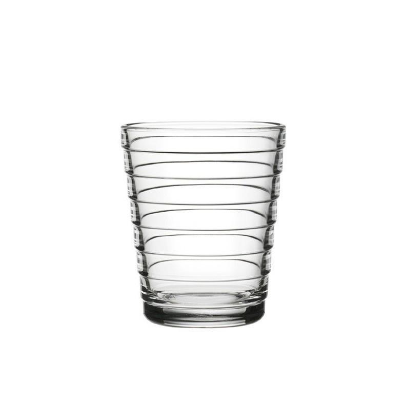 Verres Aino Aalto 22 cl, clair, set de 2 verres