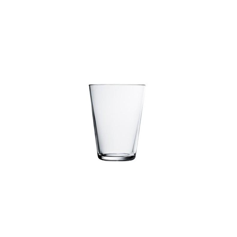 Kartio, verres 40 cl, clair, set de 2 verres