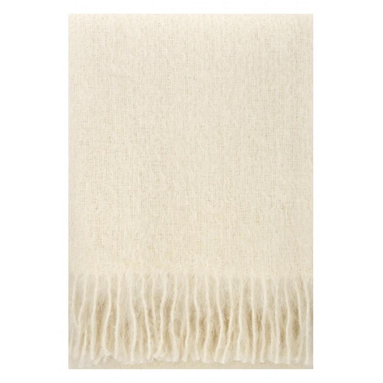 White mohair blanket