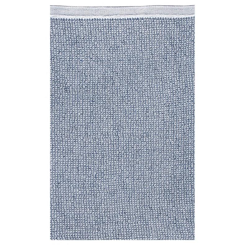 Terva serviette de bain (coloris blanc-myrtille)