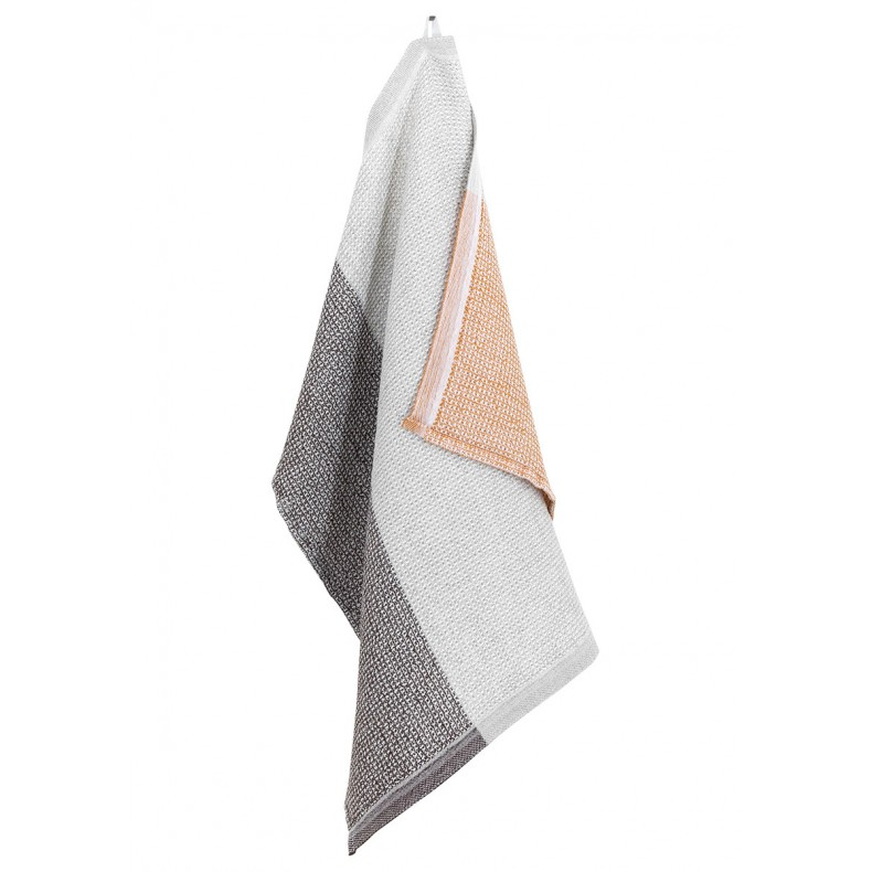 Terva bath towel (white-rust)