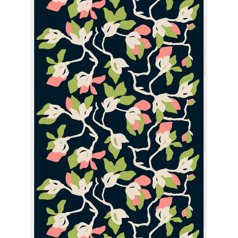 Marimekko Fabric Mielitty cotton linen blend