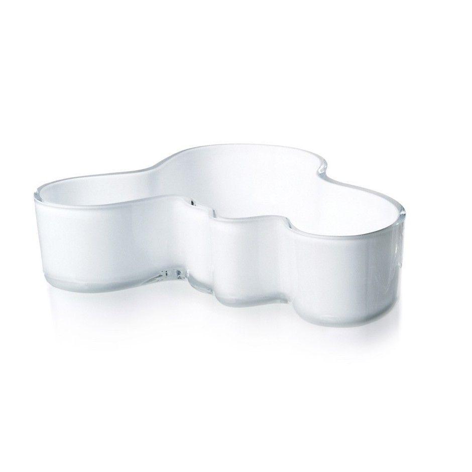 Aalto Flaque, 50 x 195 mm blanc