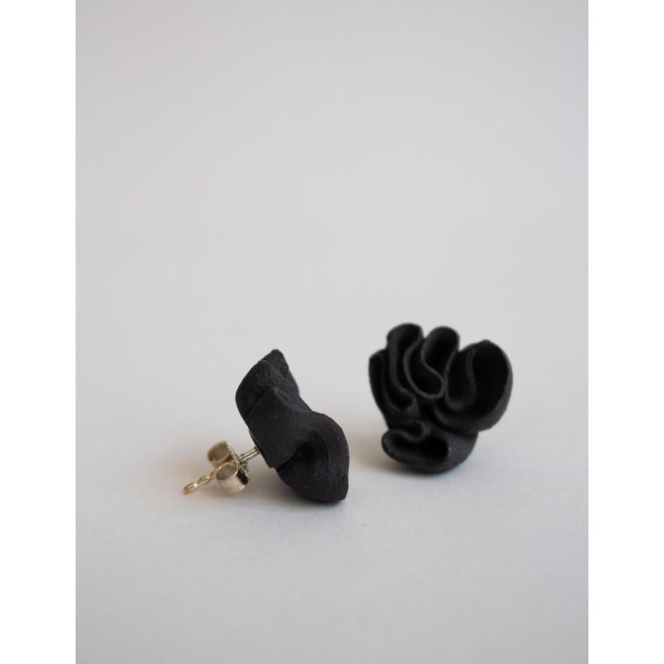 Heidi Aulikki | boucles d'oreilles en céramique gris