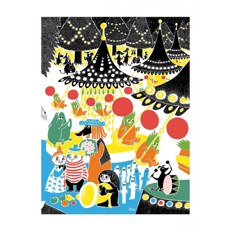 Moomin post card - Carnival