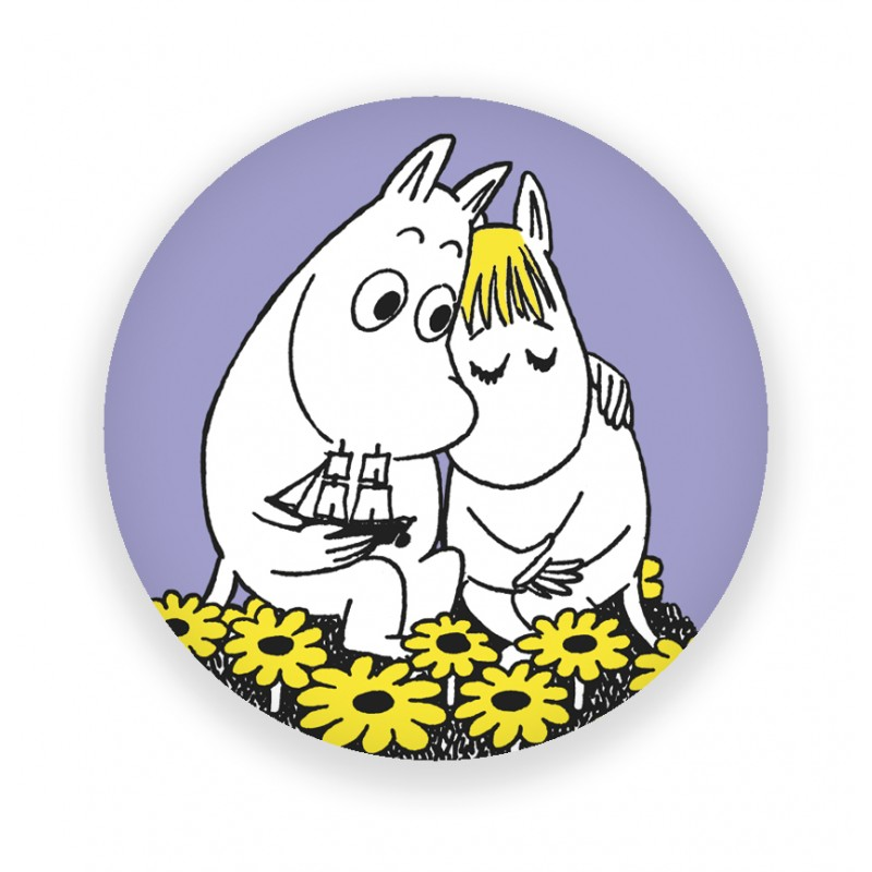 Magnet Moomin - Hug at FINNOVA SHOP Paris and online