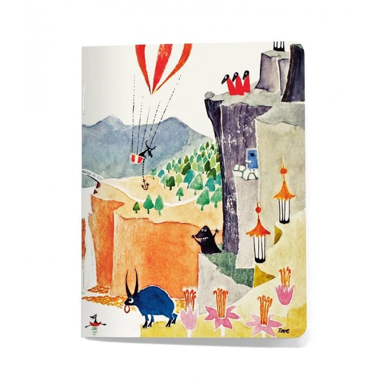Cahier Moomin, Les aventures de Papa Moomin