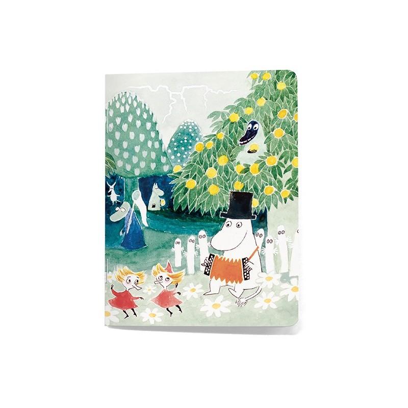 Moomin notebook Taikurin Hattu