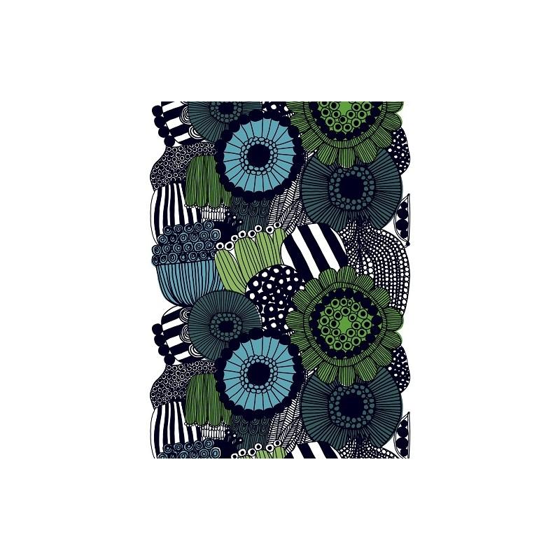 The printed acrylic-coated cotton Siirtolapuutarha fabric, Marimekko