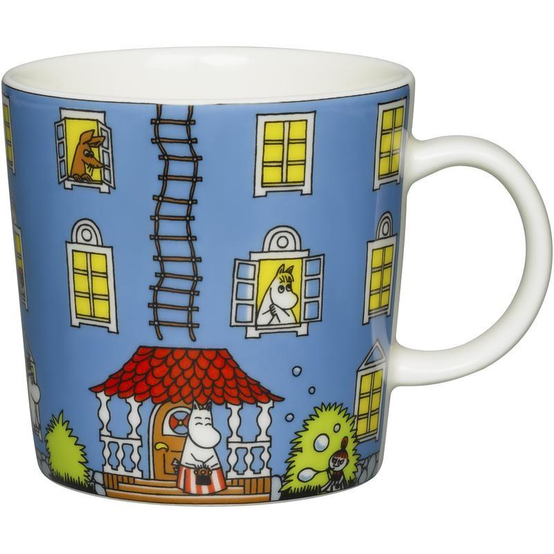 Moominhouse mug, Arabia