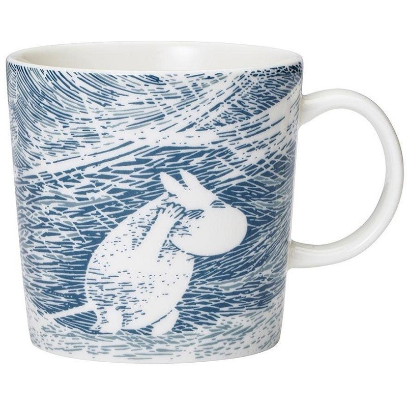 Mug Moomin Tempete de neige Tove Jansson