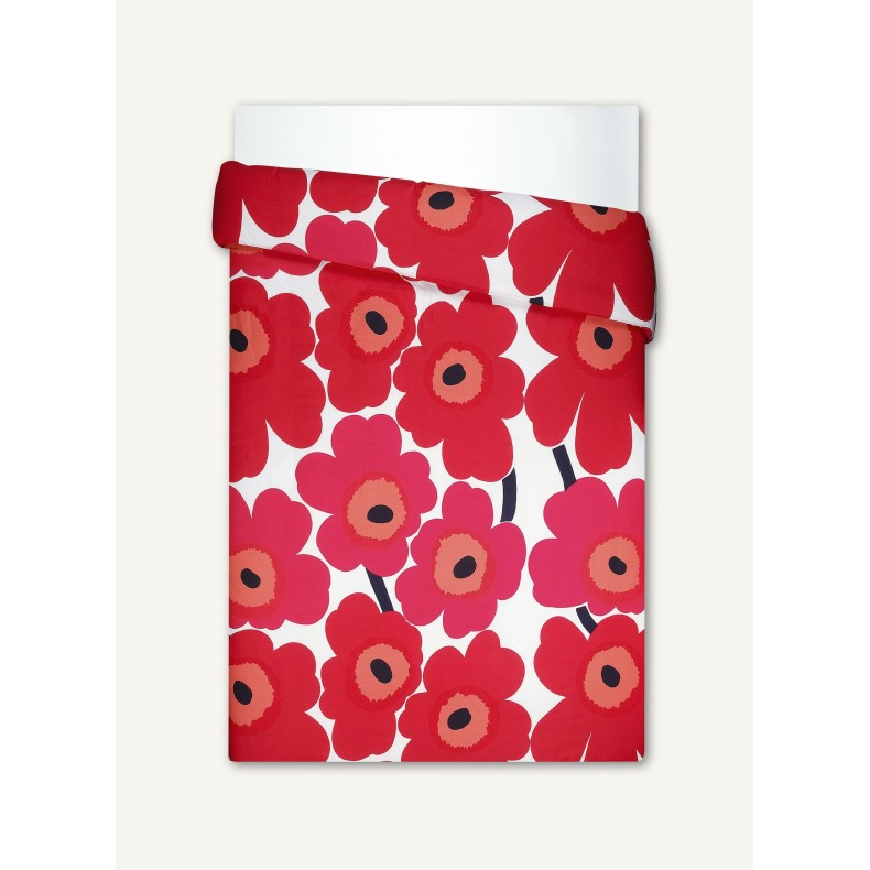 Unikko duvet cover for two, Marimekko