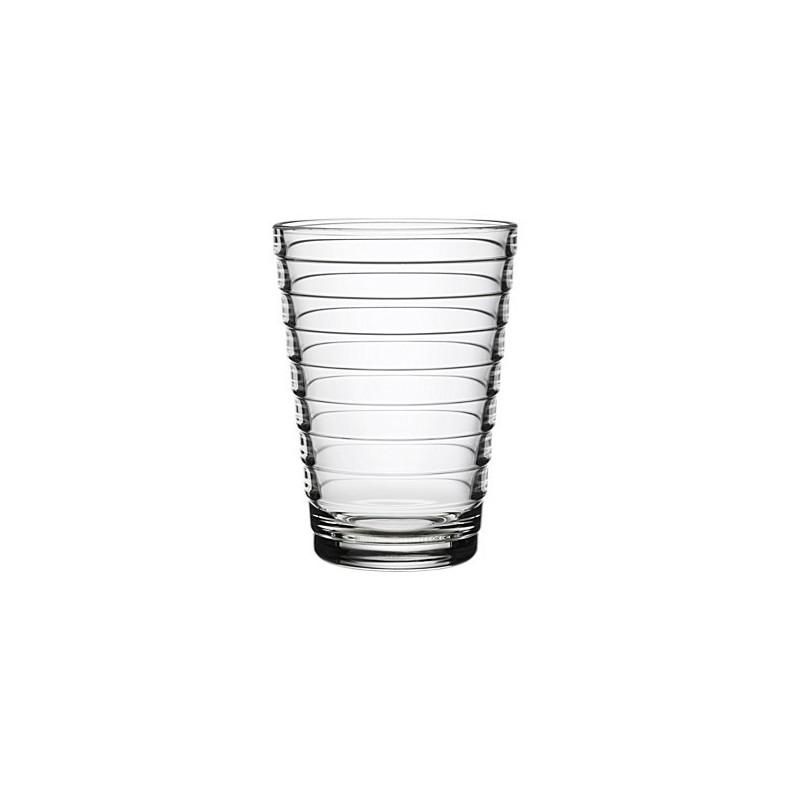 Verres Aino Aalto, 33 cl, clair, 2 verres