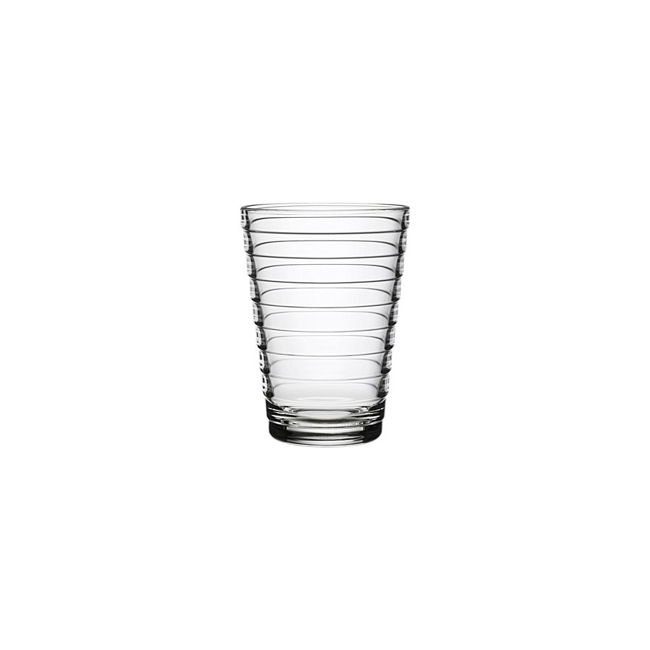 Aino Aalto tumbler 33 cl, by 2 pieces, clear