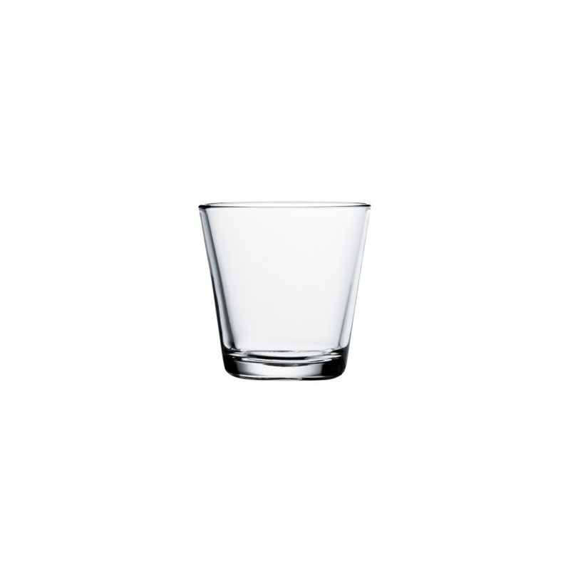 Kartio glasses 21 cl, clear, set of 2 glasses