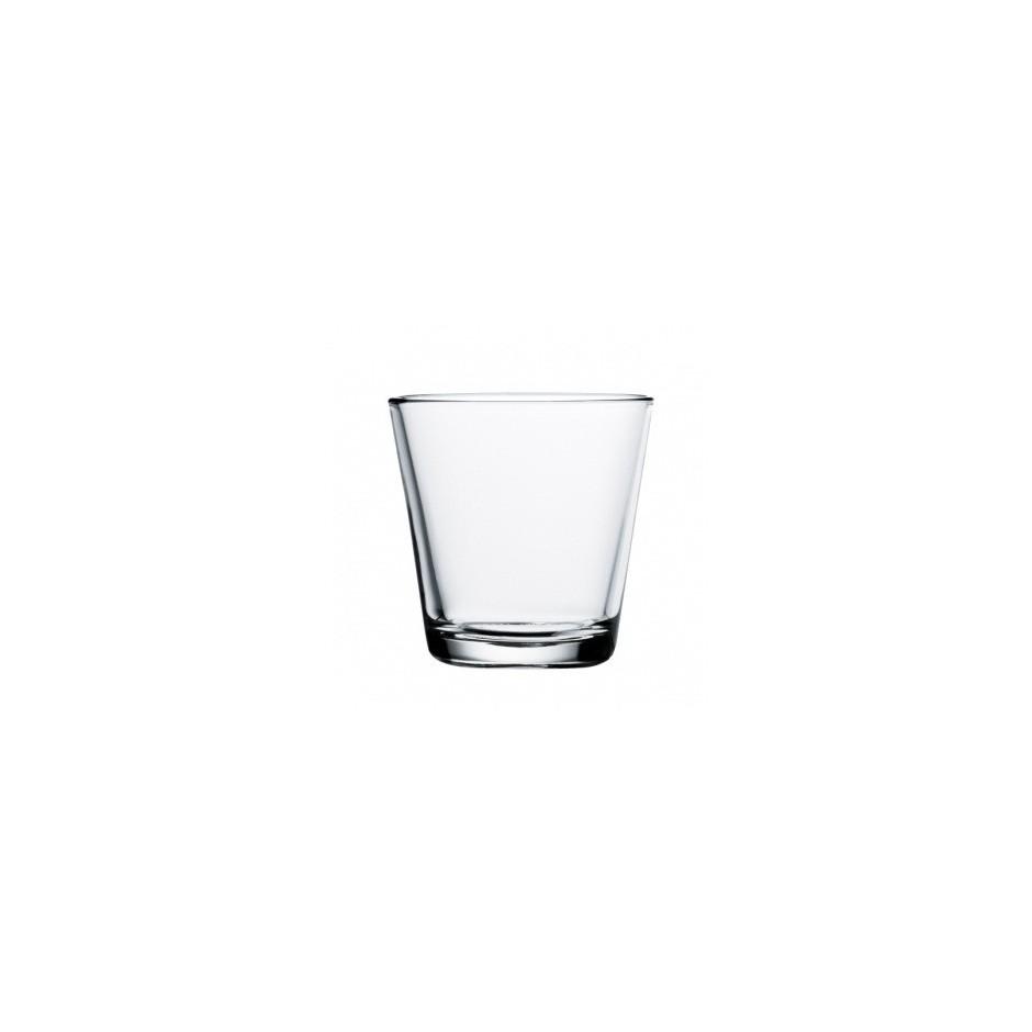 Kartio glasses 21 cl, clear, set of 2 glasses