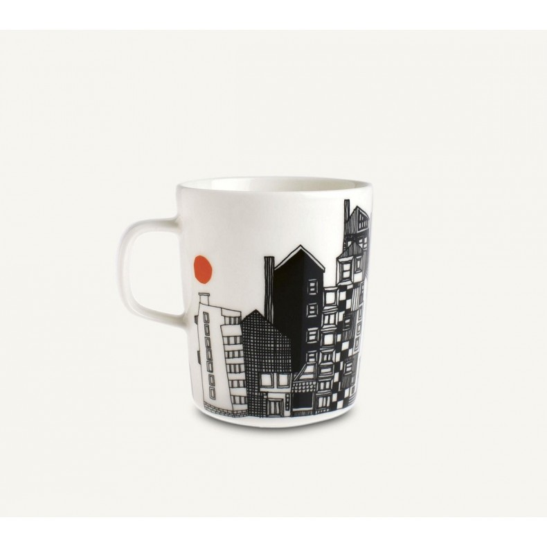 White Taika mug 0.40 L, Iittala