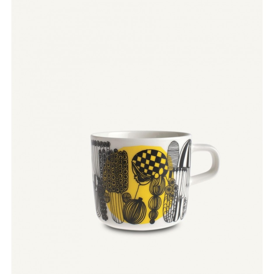 Oiva - Siirtolapuutarha coffee cup 2  dl - Marimekko