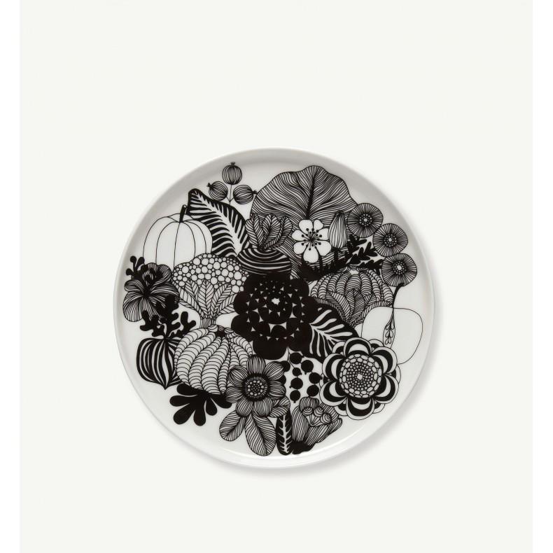 Marimekko Oiva - Siirtolapuutarha plate 20 cm